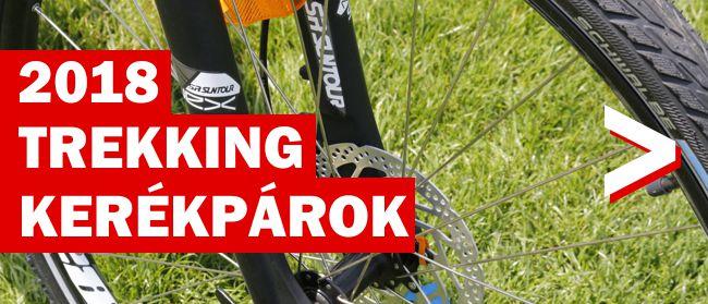 Trekking kerékpárok 2018 Forrás: Mozgásvilág.hu