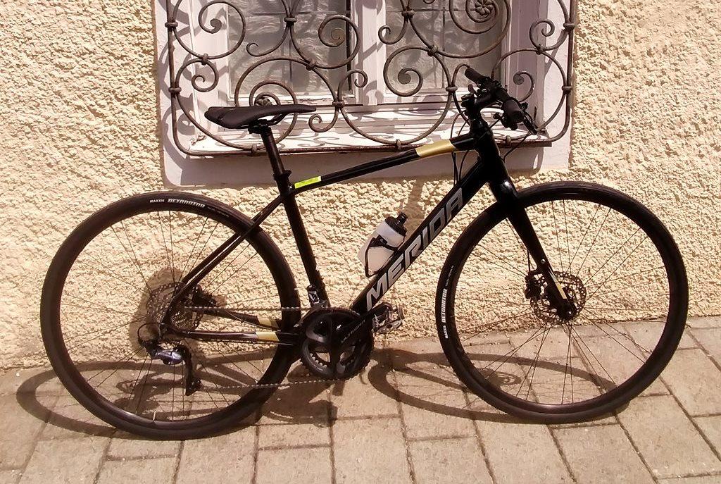 Merida Speeder 900 fitnesz kerékpár Forrás: Ferenczi Anita