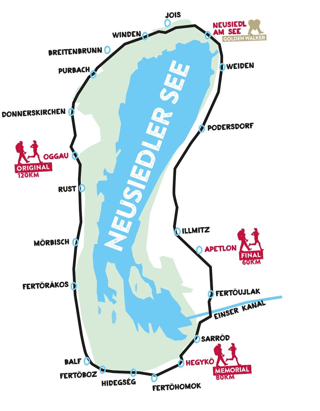 Rajt térkép Forrás: www.24stundenburgenland.com