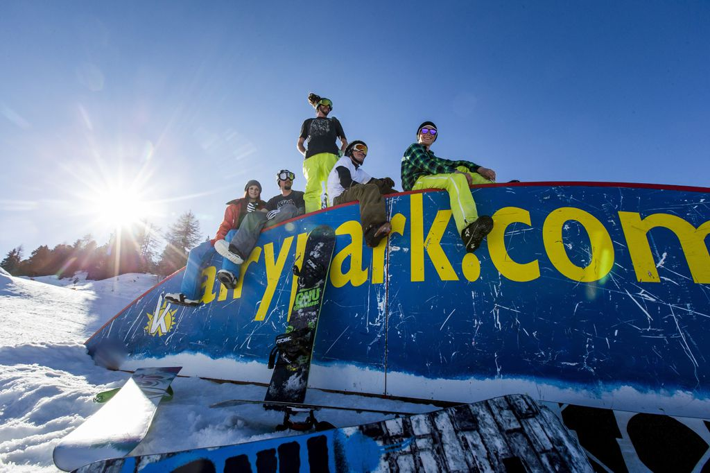 Freestyle sí és snowboard Stájerországban Forrás: austria.info