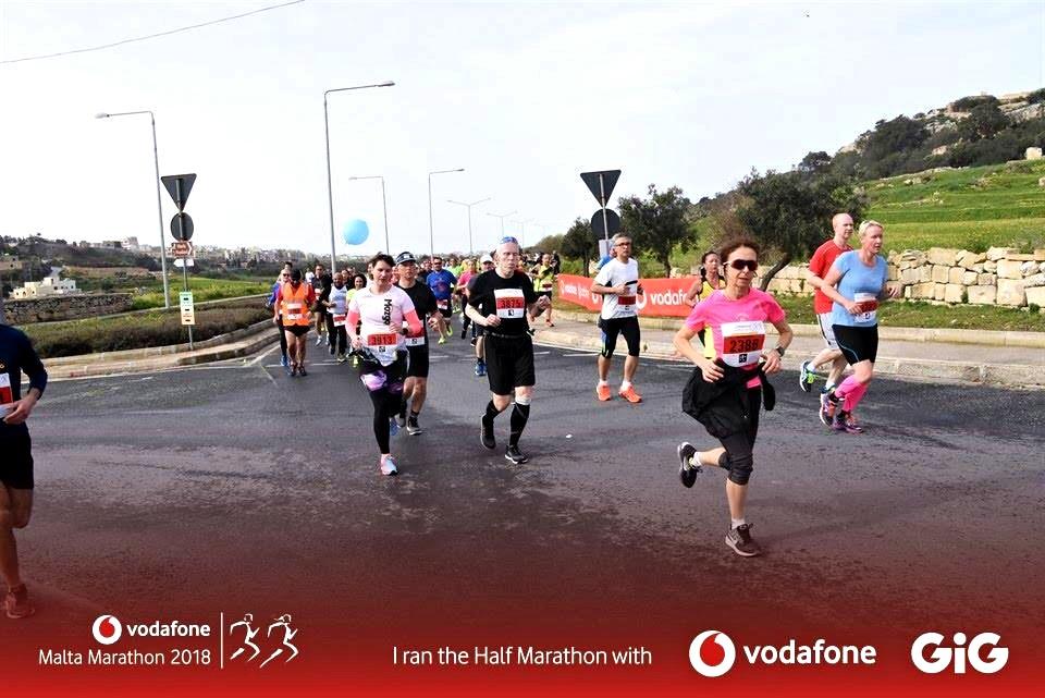 Van bizonyíték, tényleg futottam! ;) Forrás: Vodafone Maraton