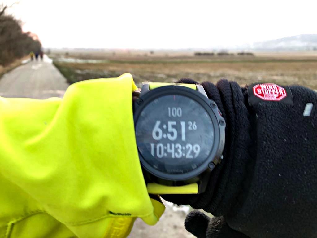 Megvan a 100 km Forrás: Engelbrecht Zoltán