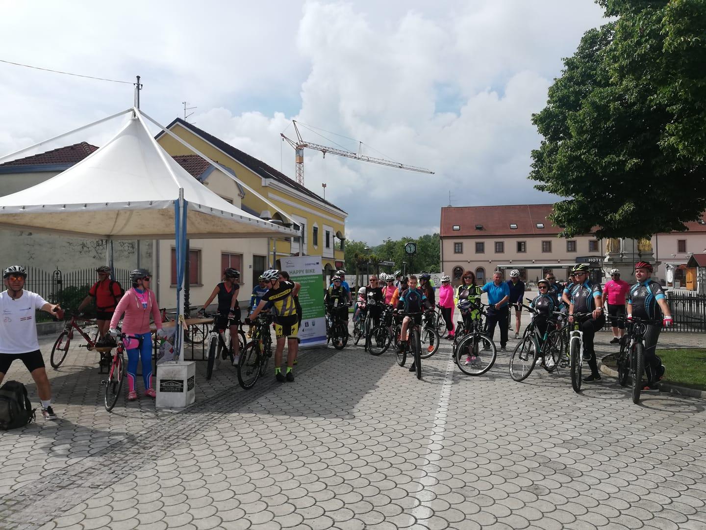 Kerékpártúra Letenyéről Perlak város érintésével Ludbregbe Forrás: Letenye Város Önkormányzata