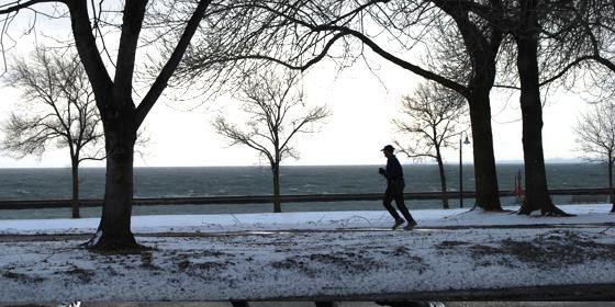 Télen futni jó...