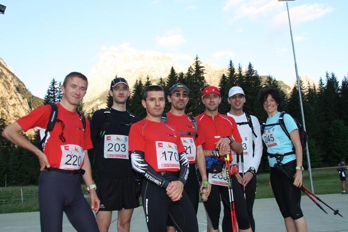A magyar csapat balról jobbra: Karlowits-Juhász Tamás, Papp Gergely, Németh Csaba, Zámbori Zoltán, Lőrincz olivér, Agócs András, Radnay Eszter