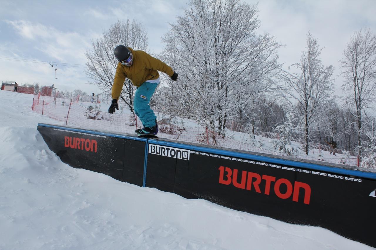 World Snowboard Day 2010 Mátraszentistván