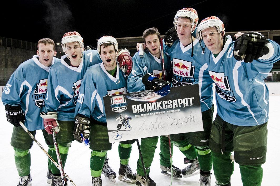 Red Bull Open Ice 2011 Zöld Sasok