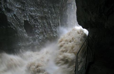 Reka sok eső idején
