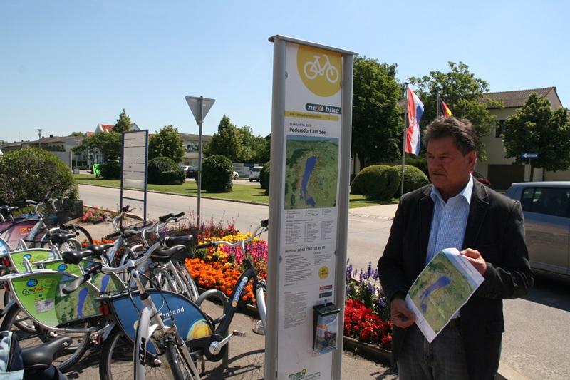 Nextbike kerékpárkölcsönző állomás