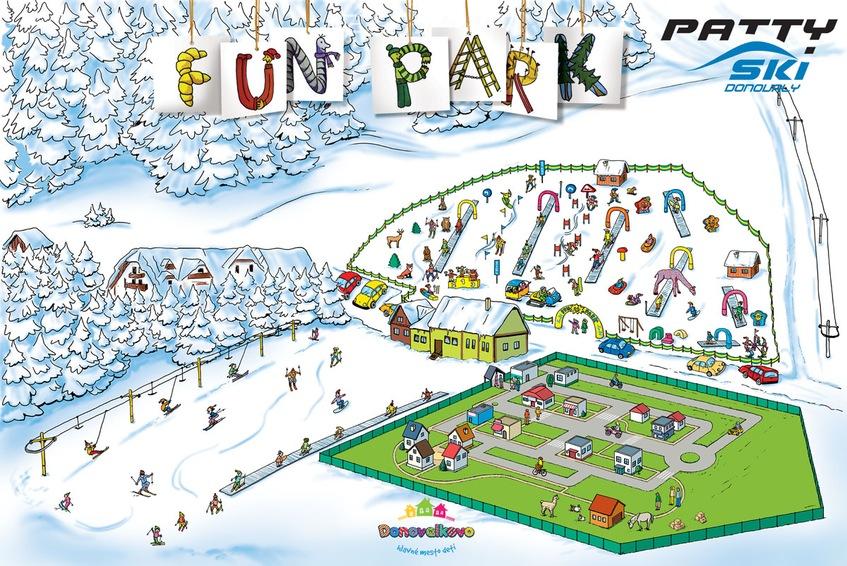 Donovaly Funpark Forrás: parksnow.sk