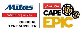 Az ABSA CAPE EPIC versenysorozat hivatalos kerékpárgumi szállítója a MITAS