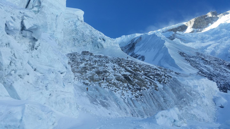 Annapurna, Célkereszt-kuloár Forrás: Klein Dávid