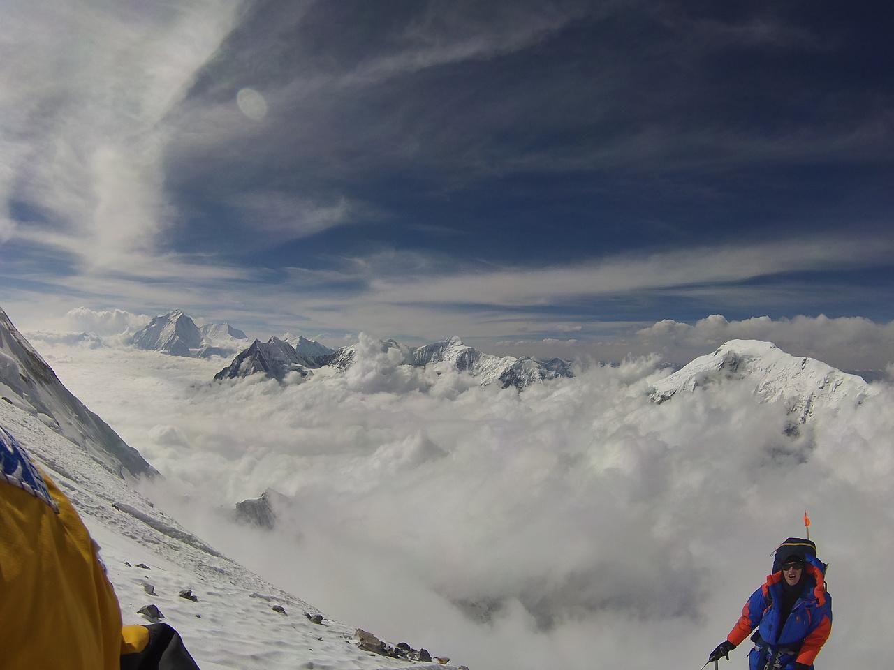 Annapurna, a képen Jost Kobusch Forrás: Eseményhorizont