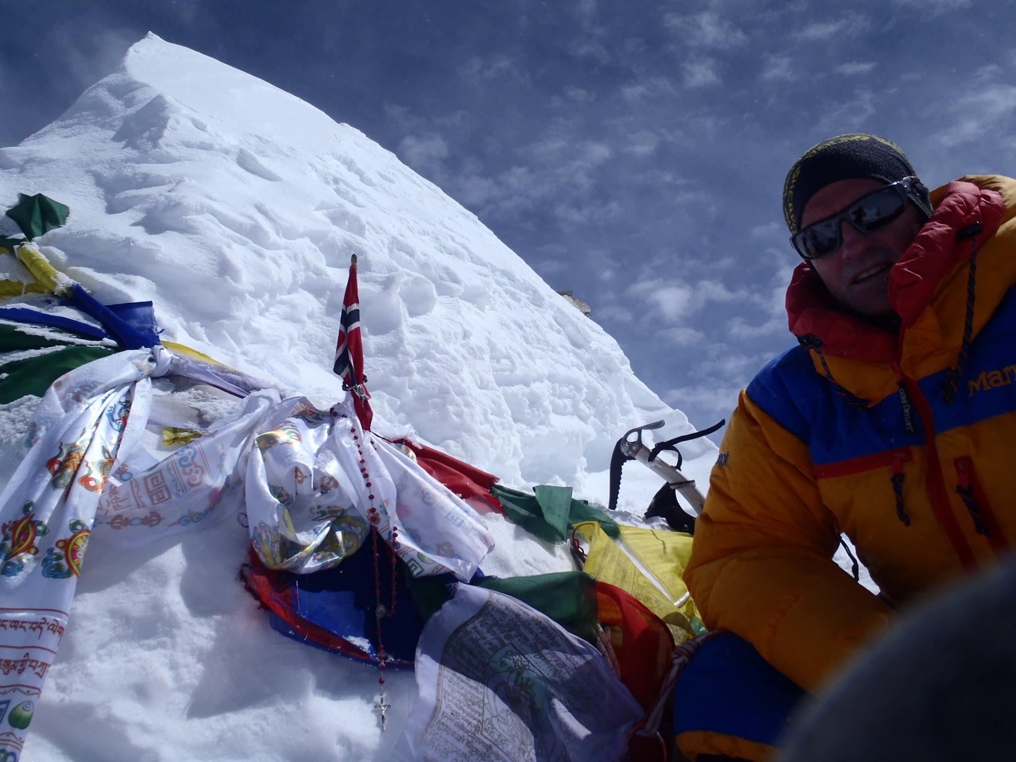 Antonio Jesus Velez Ruiz a Himalájában Forrás: Antonio Jesus Velez Ruiz Facebook