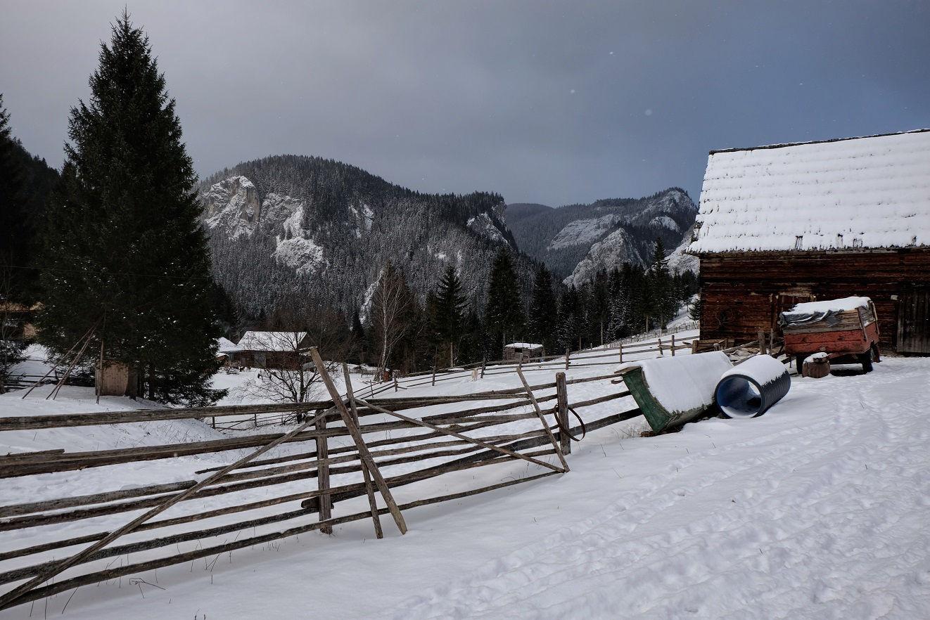 Túrázás a téli Erdélyben Forrás: Vígh-Tarsonyi gergő