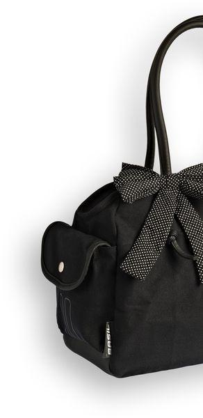 Basil Katharina Shoulder Bag fekete pöttyös válltáska Forrás: Velostar