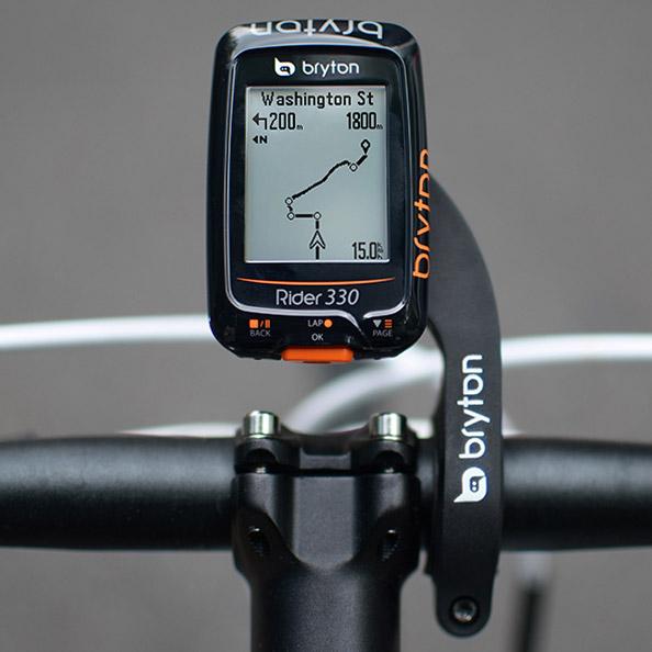 Bryton Rider 330T Forrás: Bryton