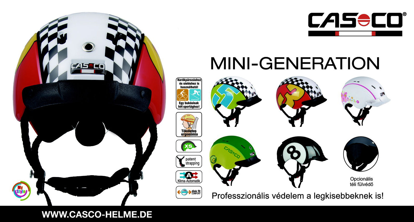 Casco Mini Generation