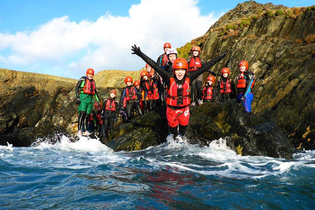 Coasteering Forrás: (c) Mc Adventures