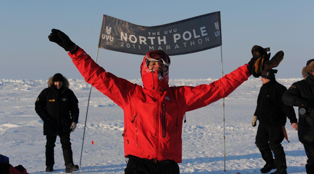 Északi-sark Marathon Forrás: Tóth István