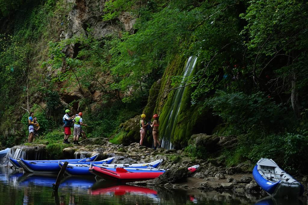 Rafting a Sebes-Körös völgyében Forrás: Bihar Megyei TDM/Bauman Dieter-Gergő