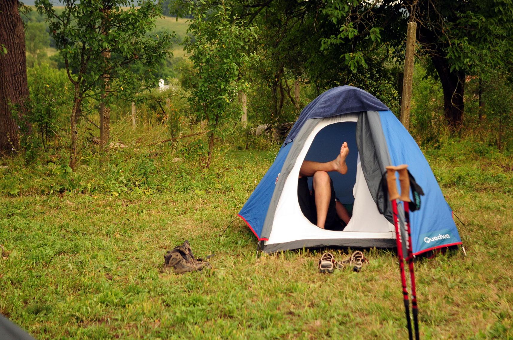 Amíg nem esik, az olcsó felszerelés is komfortos Forrás: Paraferee - Mozgásvilág.hu