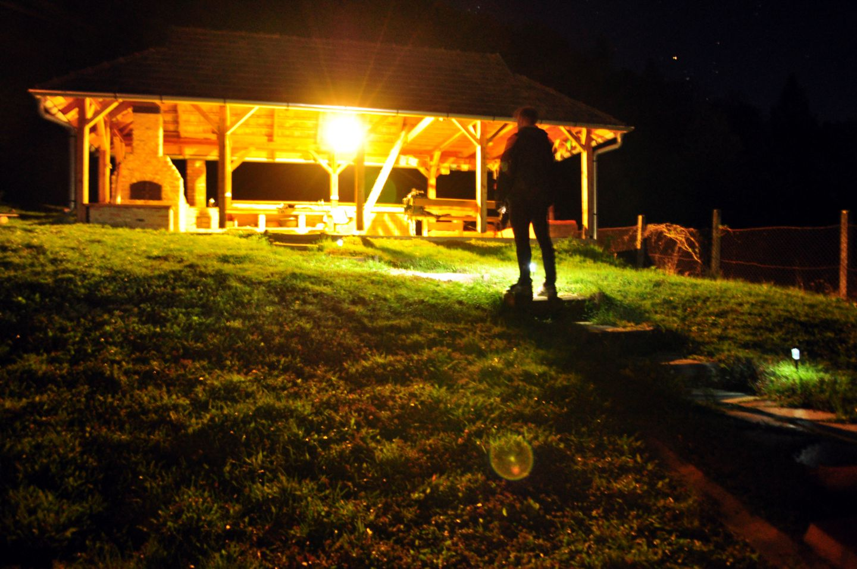 Első nap - öt csillagos éjszakai szállásunk Forrás: Paraferee - mozgasvilag.hu