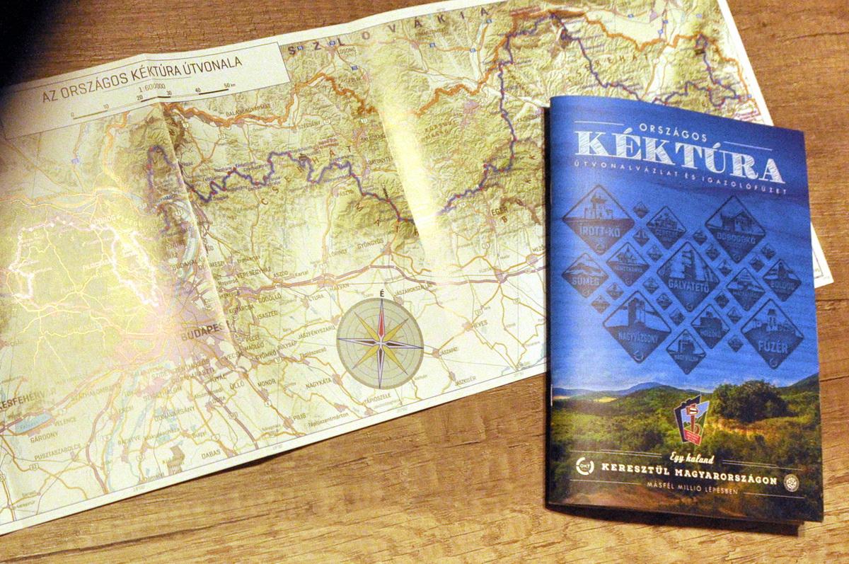 A kéktúra füzet Forrás: Paraferee - Mozgasvilag.hu