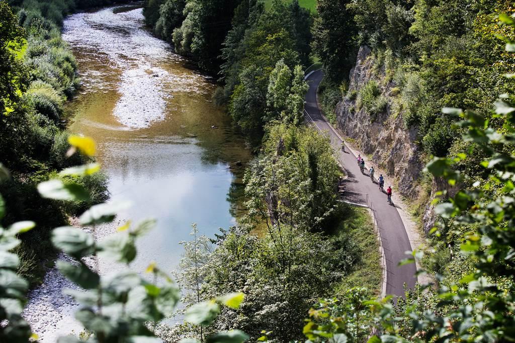 Ybbstali kerékpárút Forrás: (c)schwarz-koenig.at