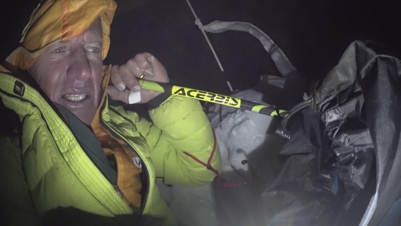 Gasherbrum II: Denis Urubko csúcsfotója 2. Forrás: Denis Urubko archívum