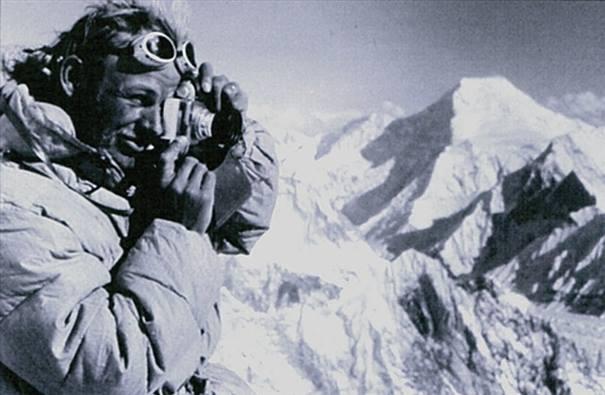 Kurt Diemberger, a fotós Forrás: Kurt Diemberger archívum