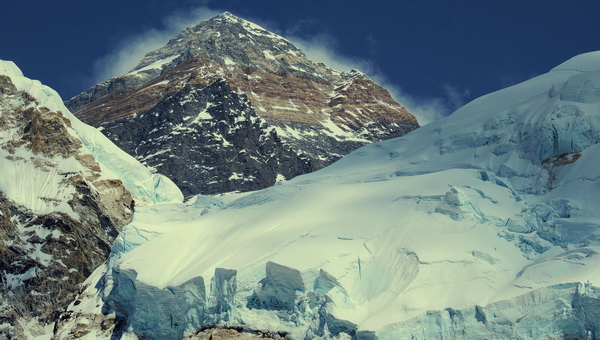 Mount Everest, 8850 m Forrás: Mozgásvilág/Pintér László
