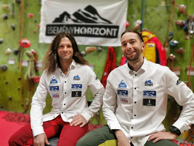Klein Dávid és Suhajda Szilárd. A legutóbbi két első magyar nyolcezres megmászást ők hajtották végre. Forrás: Eseményhorizont