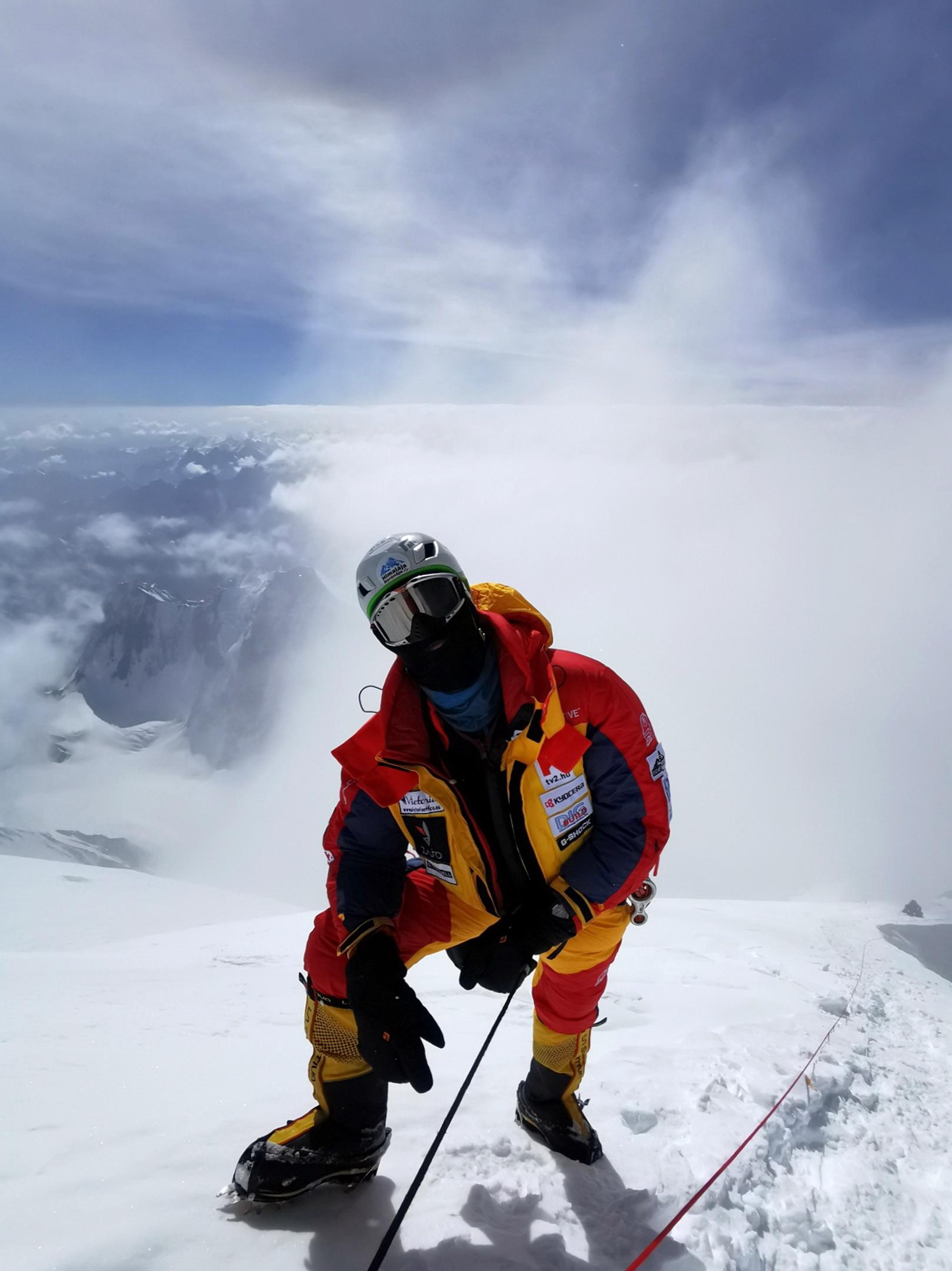 8440 méteren, még felfelé Forrás: Eseményhorizont