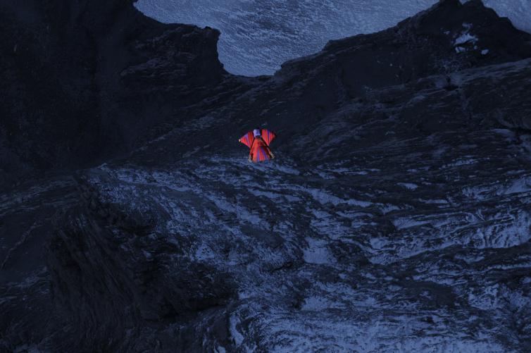 Eiger világrekord szárnyasruhás repülés Forrás: Deanspotter.com/Renan Ozturk