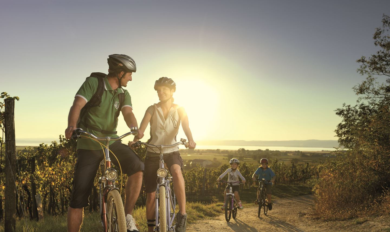 Családi kerékpártúrák Forrás: Peter Burgstaller/Burgenland Tourismus