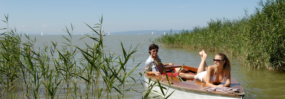 Hajókázás a Fertő tavon Forrás: (c) Burgenland Tourismus