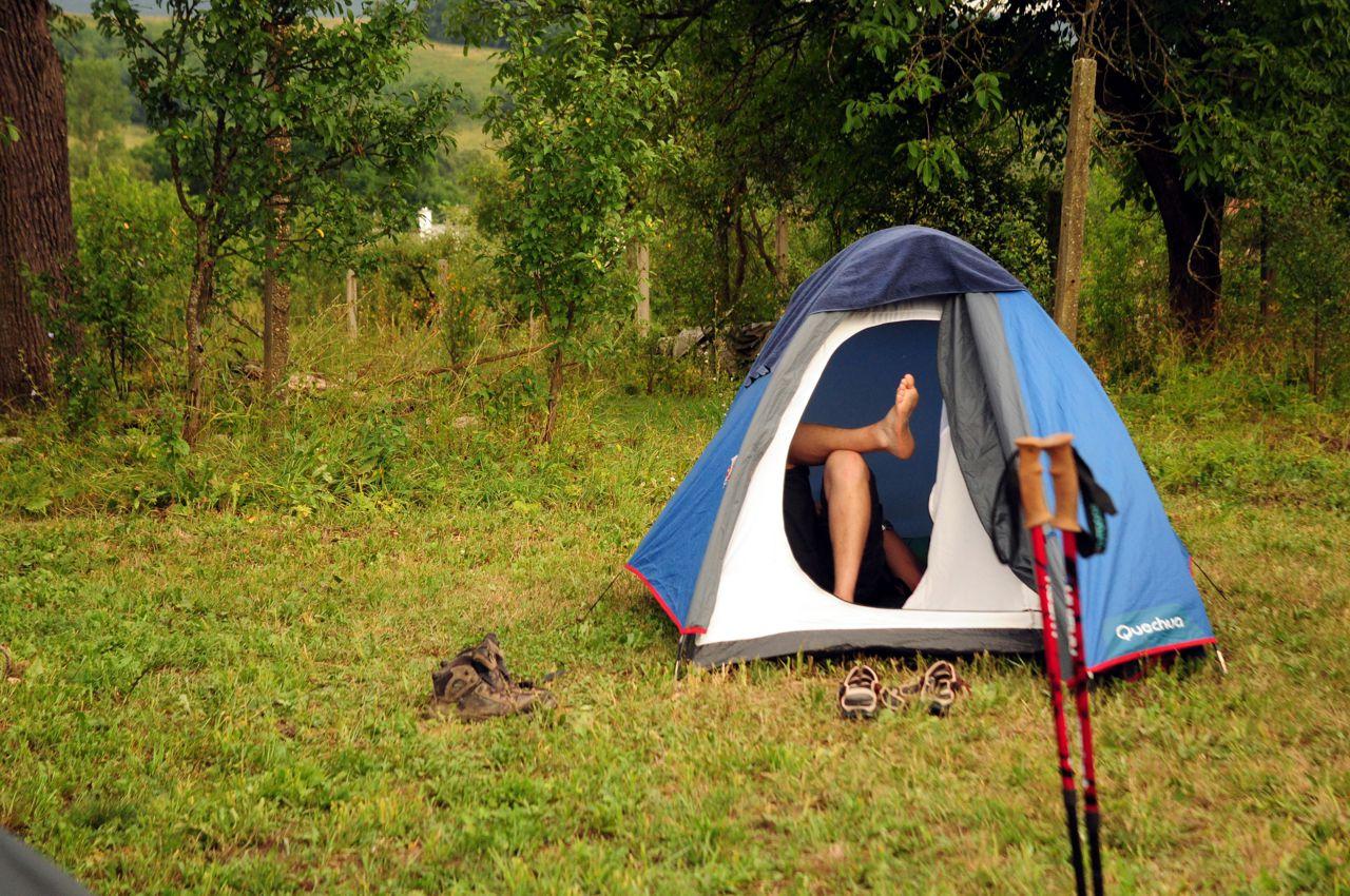 Vízálló sátor nélkül ne vágj bele