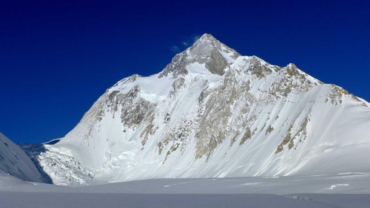 A Hidden Peak, vagy másik nevén Gasherbrum I, 8080 m Forrás: Kalifa Himalája Expedíció 2018 - Gasherbrum I-II