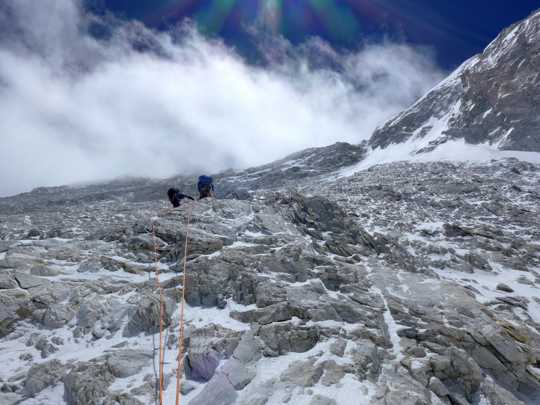 Gasherbrum I - Japán-kuloár 2 Forrás: Suhajda Szilárd