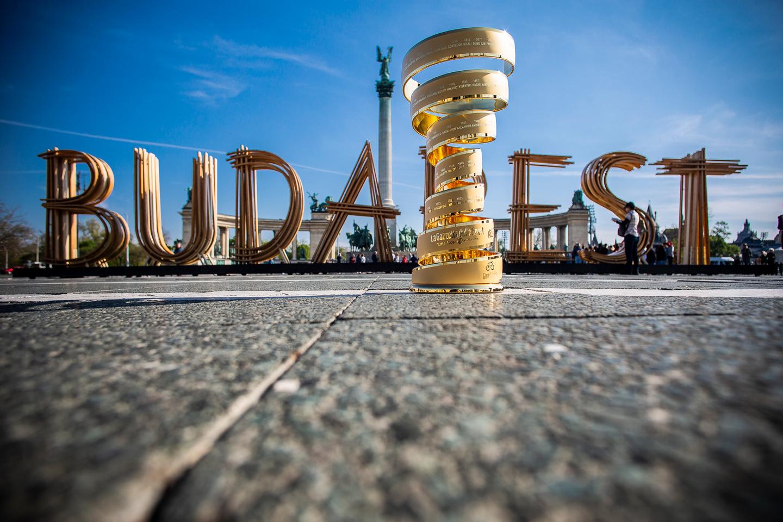 Giro Grande Partenza Budapest 2020 Forrás: Aktív Magyarország