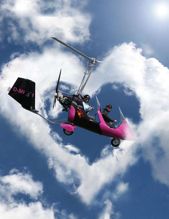 Kapfenberg: gyrokopteres sétarepülés Forrás: www.hochsteiermark.at