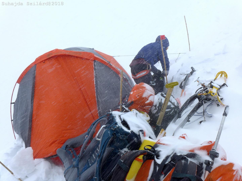 Hóvihar 7000 fölött (GI C3) Forrás: Suhajda Szilárd