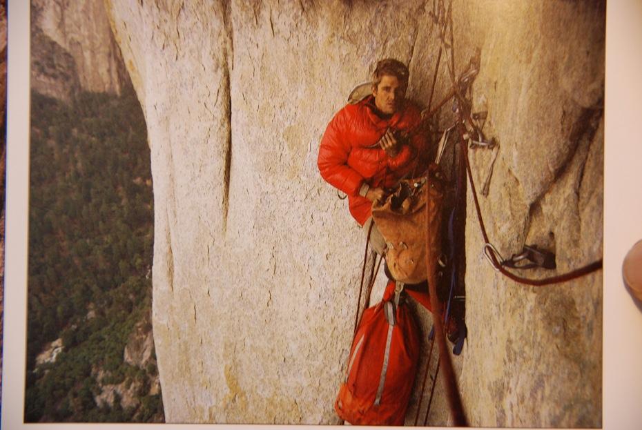 Salathé, El Capitan, Yosemite, 1970 Forrás: Peter Habeler archívum