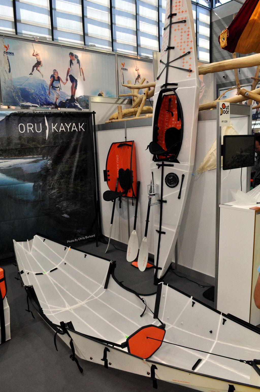 Hajtogass magadnak kajakot – Oru Kayak Forrás: Paraferee - Mozgásvilág.hu