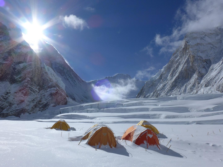 Hallgatás-völgye (Mount Everest) Forrás: Suhajda Szilárd