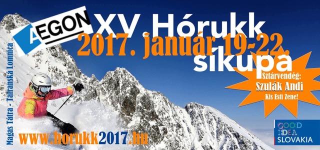 Hórukk plakát Forrás: Holiday 55 Hungary Kft.