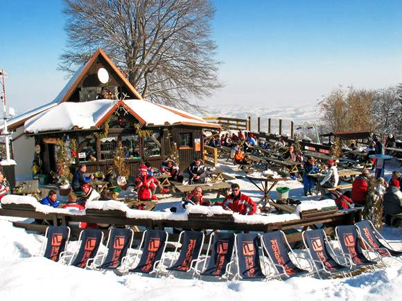 Hütte Mariborsko Pohorjén