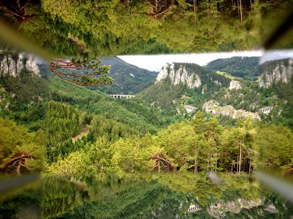 A Semmeringi vasút a Viewer-en át. Forrás: www.mozgasvilag.hu