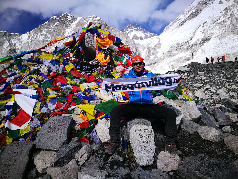 Mozgásvilág az Everest alaptáborában Forrás: Everest Expedíció 2017
